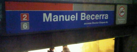 Metro Manuel Becerra is one of Mundo madrileño.