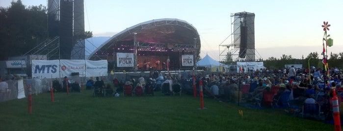Winnipeg Folk Festival is one of Winnipeg.