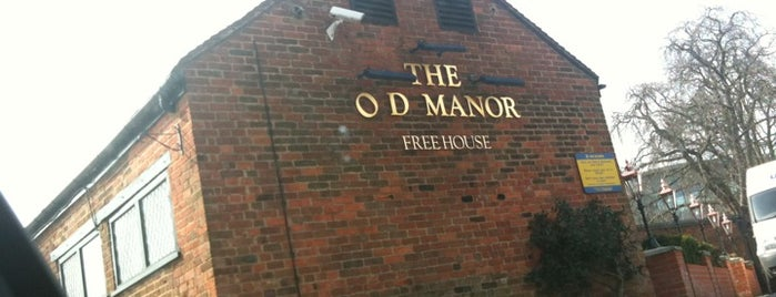 The Old Manor (Wetherspoon) is one of Posti che sono piaciuti a Carl.