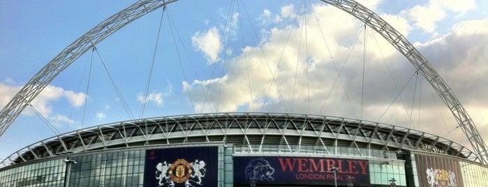 Wembley Stadium is one of Best Stadiums.