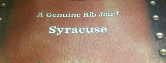 Dinosaur Bar-B-Que is one of 44 Things at Syracuse University.