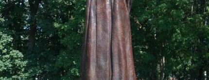 Памятник Рабиндранату Тагору is one of Lugares favoritos de Jano.