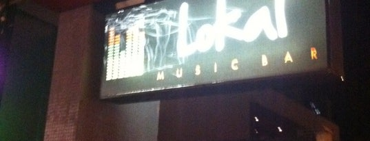 Lokal Music Bar is one of Bares e boates de Goiânia.