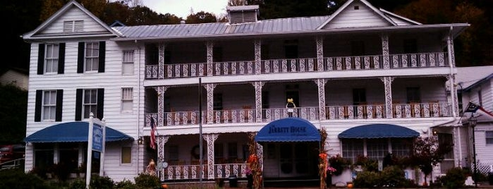 The Jarrett House is one of 100 Foods in 100 Counties (NC).