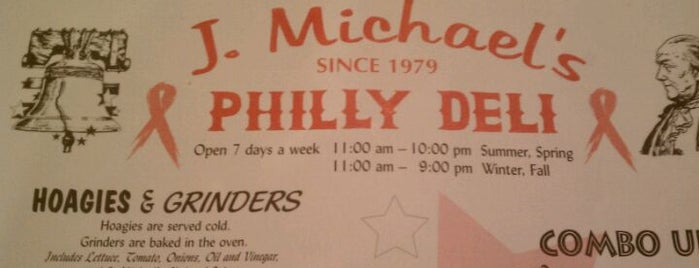 J. Michael's Philly Deli is one of Locais curtidos por Ryan.