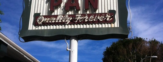 The Apple Pan is one of Pacific Old-timey Bars, Cafes, & Restaurants.