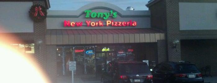Tony's Pizzeria is one of Tempat yang Disukai Tricia.