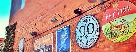 Falling Rock Tap House is one of Denver.