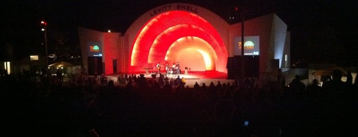 Levitt Shell is one of Mind-blowing Memphis Music.