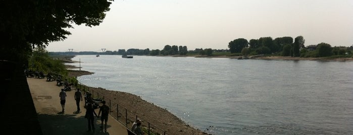 Rheinpromenade Kaiserswerth is one of Düsseldorf🇩🇪.