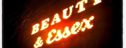 Beauty & Essex is one of Pelin's NYC Favs.