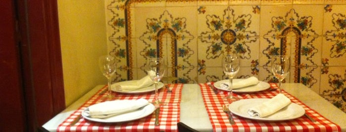 Trattoria Malatesta is one of Madrid-Tips.