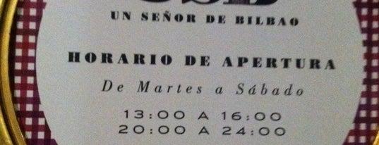Un Señor de Bilbao is one of My top in BILBAO & around.