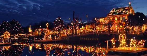 Koziar's Christmas Village is one of places to go to.