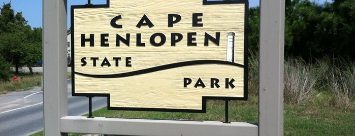 Cape Henlopen State Park is one of Rehoboth.