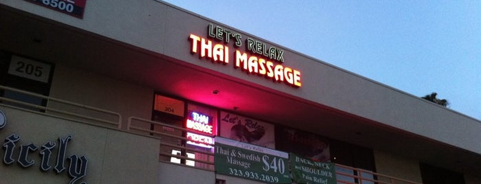 Let's Relax Thai Healing Therapy is one of Untuck Thyself.