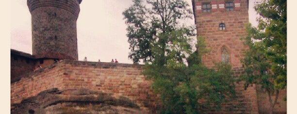 Kaiserburg is one of 100 обекта - Германия.