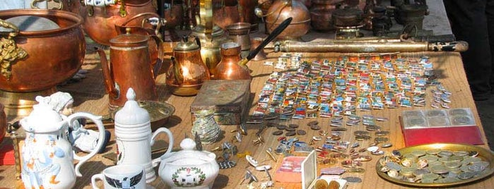 Udelnaya Flea Market is one of Saint-Petersburg, Russia.Authentic city features.