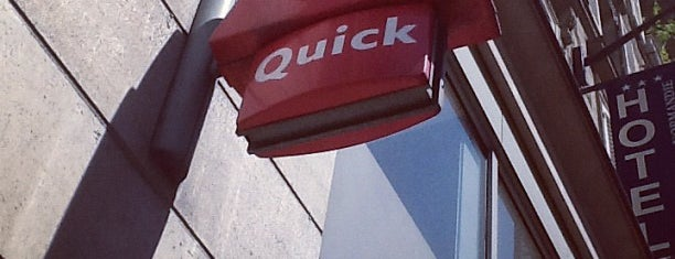 Quick is one of Bonjour Paris.
