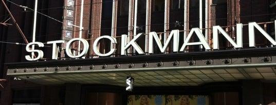 Stockmann is one of Helsinki.