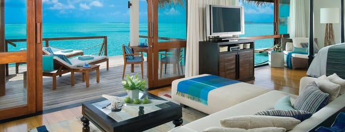 Four Seasons Resort Maldives at Landaa Giraavaru is one of Hotels of the world.
