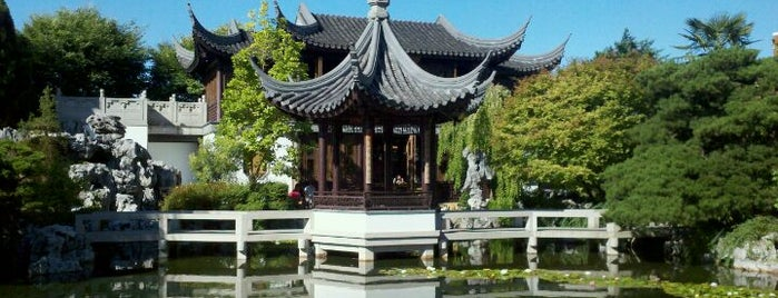 Lan Su Chinese Garden is one of Portland, OR.