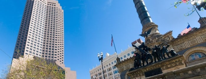Public Square is one of Come C Cleveland! #VisitUs.