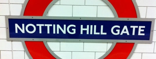 Notting Hill Gate London Underground Station is one of UK.