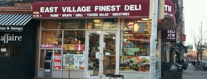 East Village Finest Deli is one of East Village/LES Favorites.