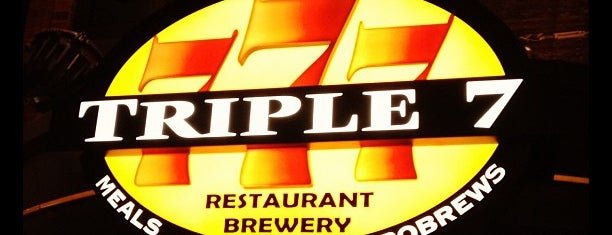 Triple 7 Restaurant & Brewery is one of Vegas.