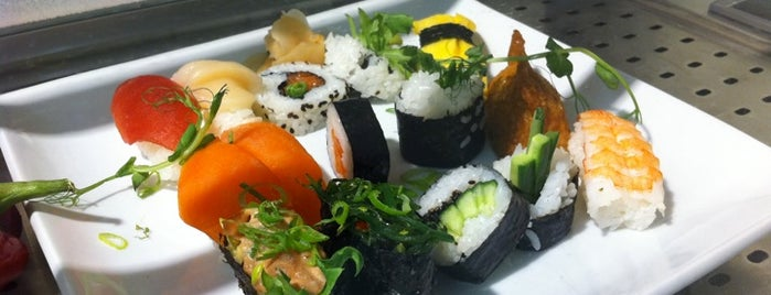 Fubuki Sushi is one of Sushi Sampler.