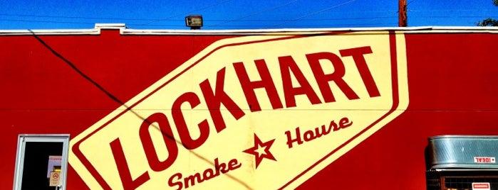 Lockhart Smokehouse is one of Restaurants that spoil....
