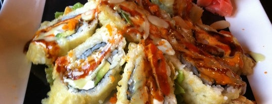 Kabuki is one of Best Places to get Sushi Around Dayton, Ohio.