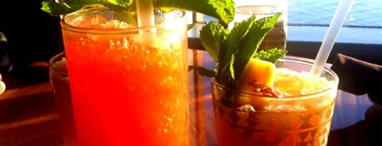 Trader Vic's is one of Top 100 Bay Area Bars (According to the SF Chron).