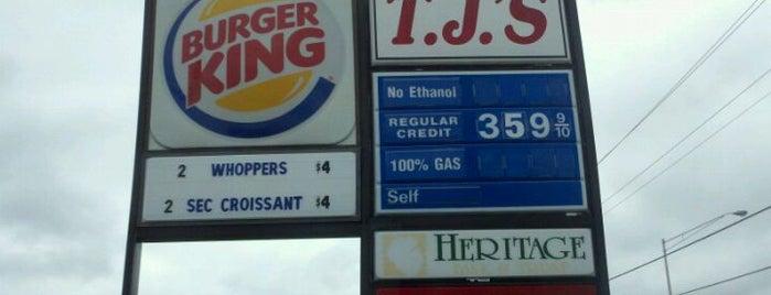 TJ's (100% Gas - No Ethanol) is one of B David : понравившиеся места.