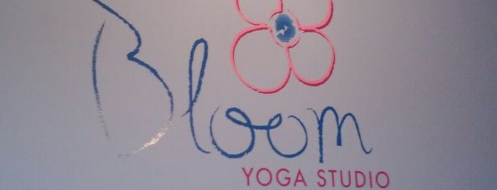 Bloom Yoga Studio is one of Lieux sauvegardés par Andy.