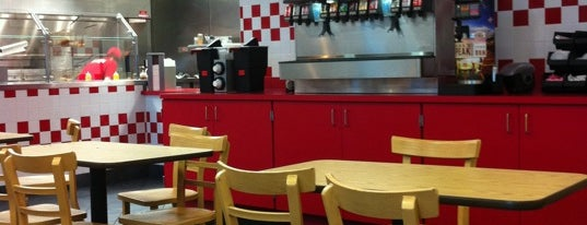 Five Guys is one of Restaurants I liked.