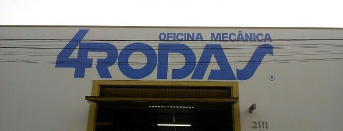 Oficina 4 Rodas is one of Orte, die Rafael gefallen.
