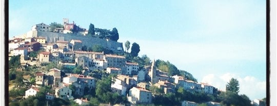 Motovun - Montona is one of Istria, Croatia.