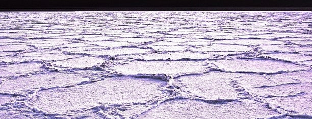 Badwater Basin is one of Death Valley.