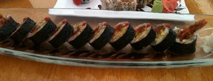 Izziban Sushi is one of Tempat yang Disukai Amy.