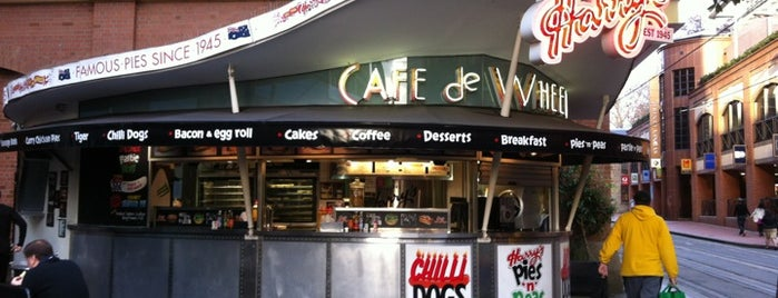 Harry's Café de Wheels is one of Sydney.