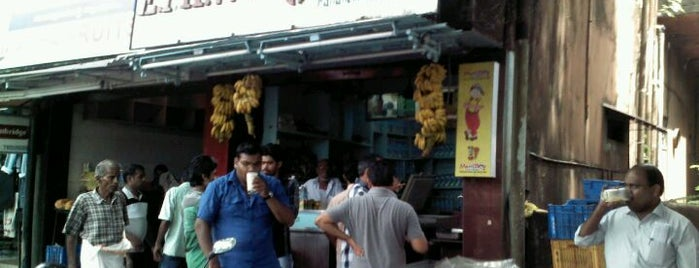 Kalandhan's Juice is one of The Kozhikode Food Guide.
