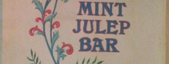 Mint Julep Bar is one of Tempat yang Disukai Dj Stutter.