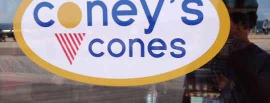 Coneys Cones is one of Lugares favoritos de Erik.