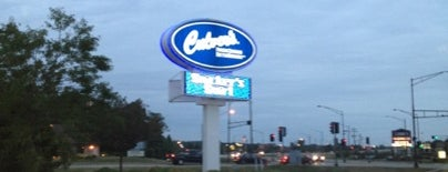 Culver's is one of Orte, die Evan[Bu] gefallen.