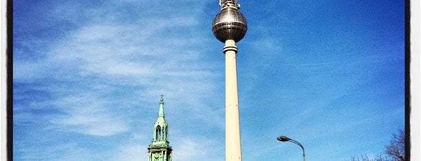 Alexanderplatz is one of * Berlin.