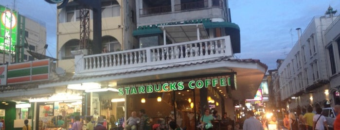Starbucks is one of Orte, die AMMAR 👑 gefallen.