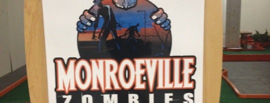 Monroeville Zombies is one of Revisiting the Great Road Trip to SD.