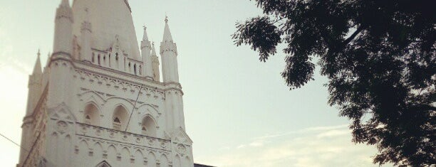 St Andrew's Cathedral is one of Singapore/シンガポール.